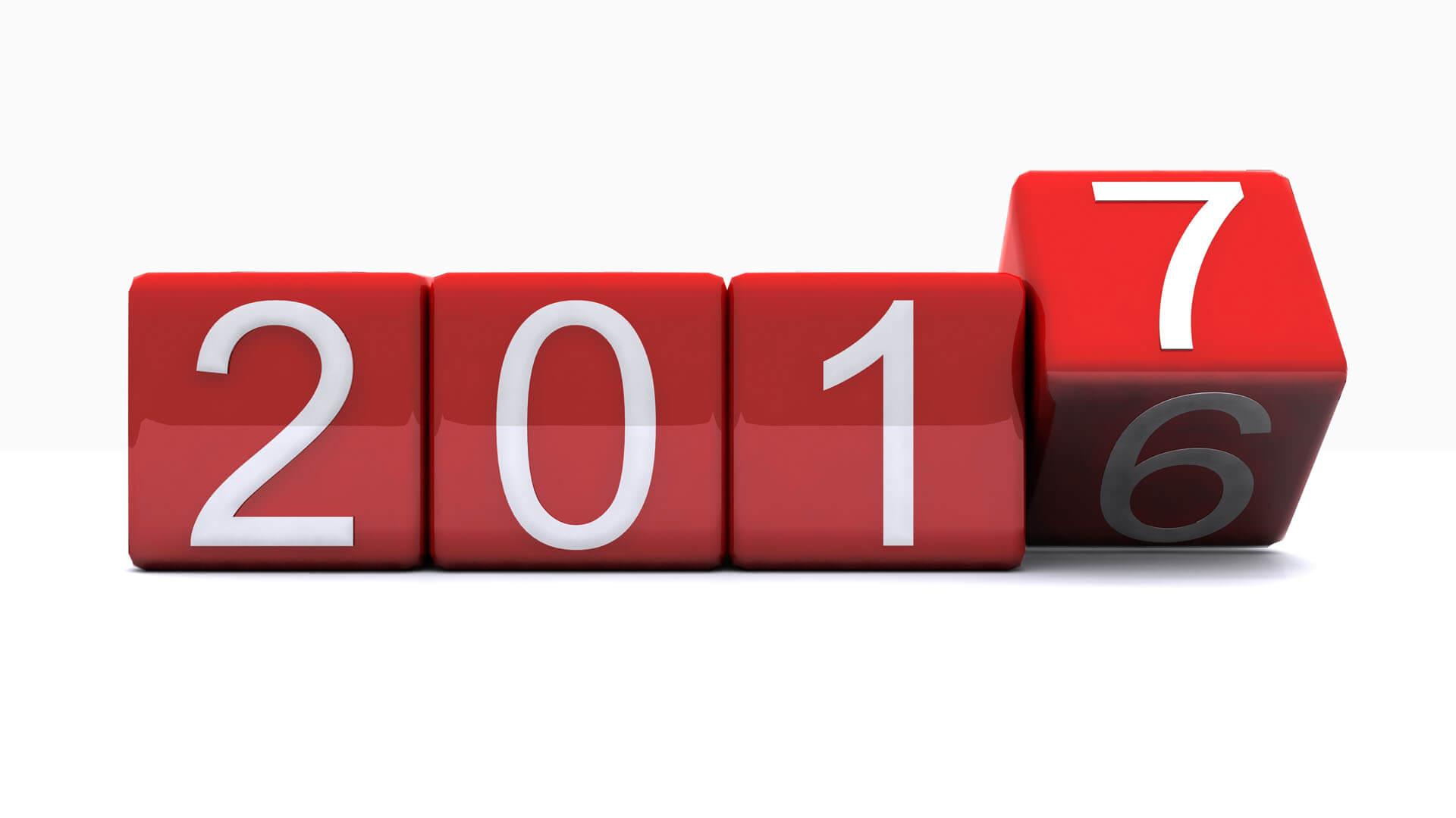 2017 New Years Resolution